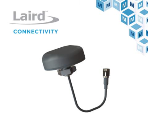 貿澤電子開售Laird Connectivity Mini GNSS天線