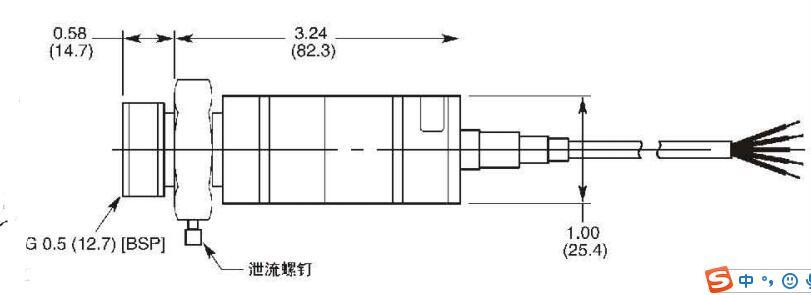 适用于轧钢机的压力传感器