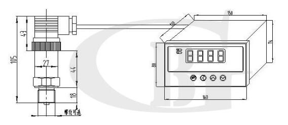 GT2001报警型压力传感器产品手册