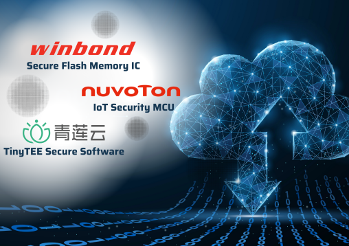 保障物聯網OTA固件安全  華邦與合作伙伴推出云到端解決方案
