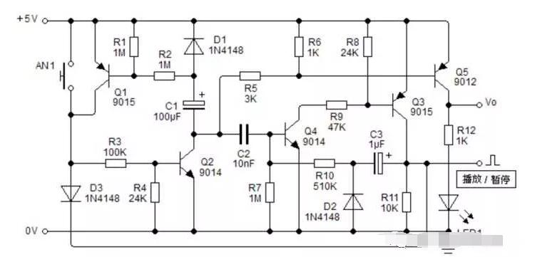 一文详解三极管开关电路的行为