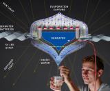 新西兰发明新创意能将海水变饮用水,不通电也能照明!