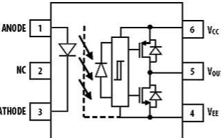 IGBT柵極驅動光交換器ACPL-P343/W3...