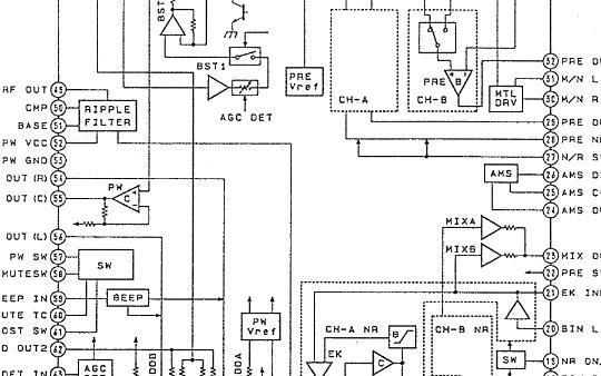 索尼便携双磁头随身听WM-EX909维修手册下载