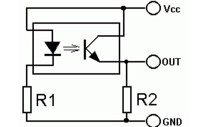 光電傳感器的典型應用電路詳細說明