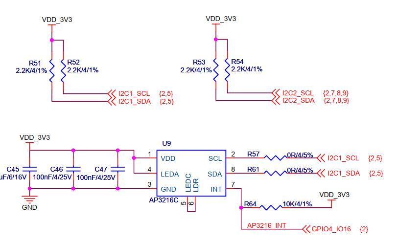基于AP3216C芯片的三合一整合型光感测器设计