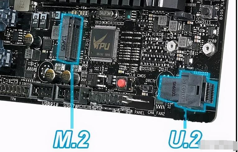 U.2與M.2接口的區別是什么
