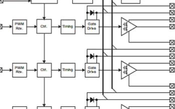 集成式三相电动机驱动器DRV8312/32的性能特点及应用电路