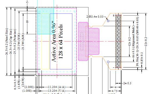 OLED显示屏在BLE领域的应用及案例