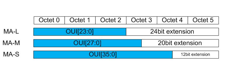 MAC的地址/结构/表示方法介绍