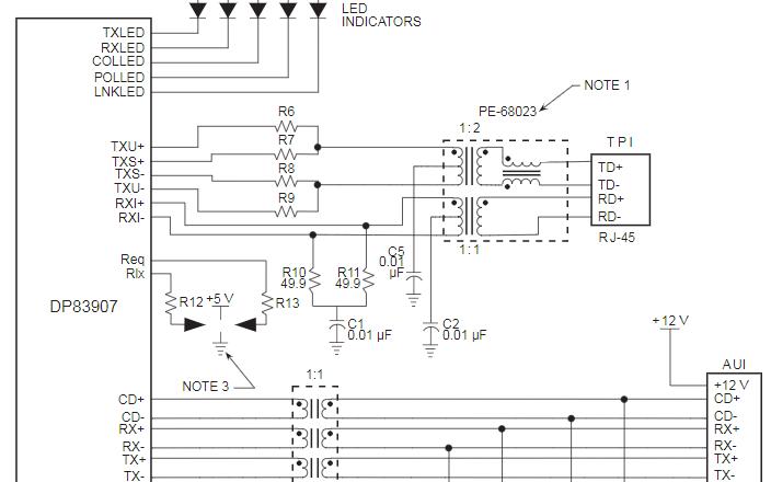 Pulse网口变压器规格说明书下载