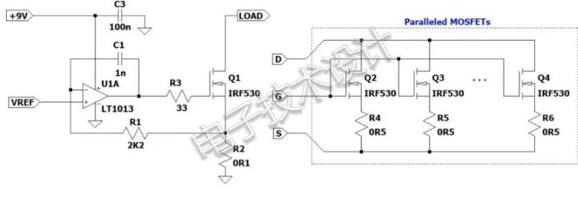 如何使用運算放大器對電源和電池進行測試?