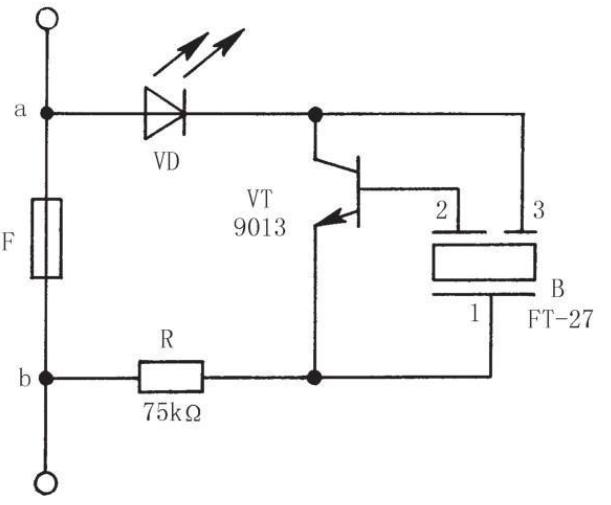 创意电子小制作之保险丝熔断报警器
