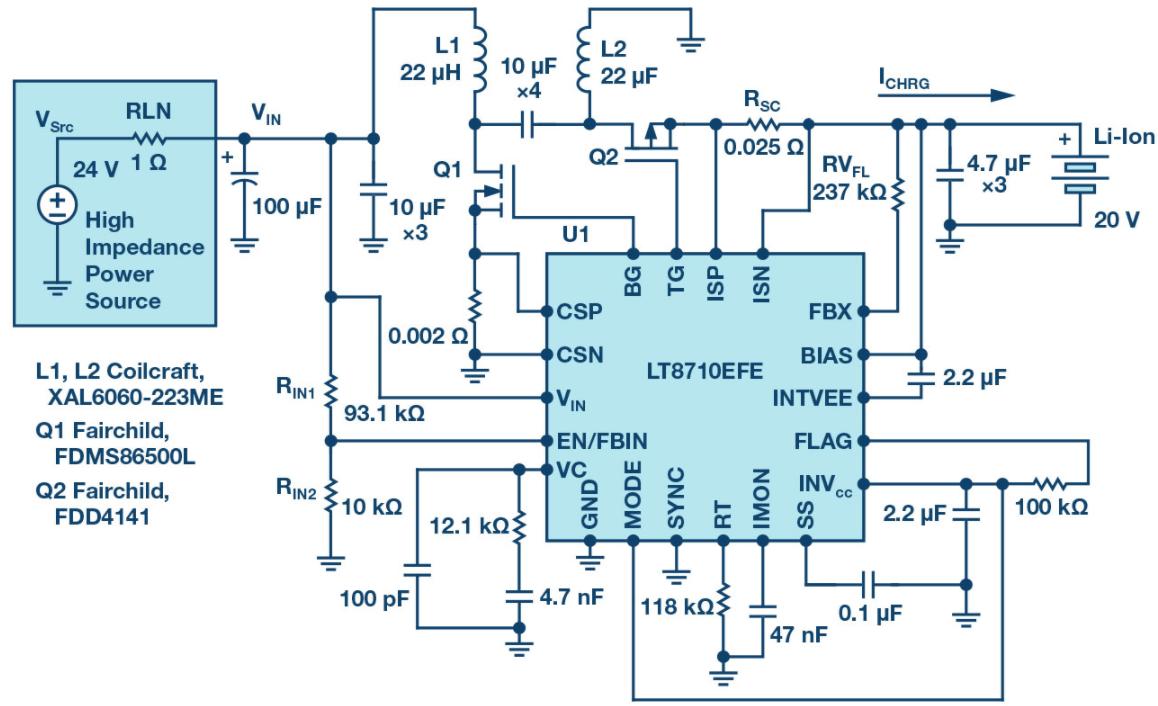 SEPIC、升壓、反相和反激式控制器解決了高阻抗、超長工業電源線的電壓降問題