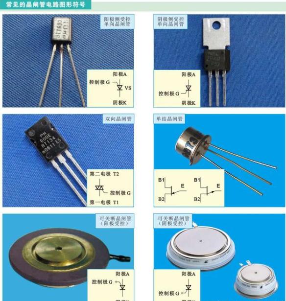 教你识别常用半导体器件的电路图形符号