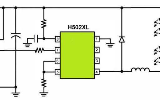 非隔離事DC-DC降壓型恒流控制器芯片H5022L