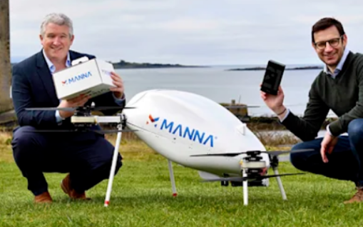 三星新增零售方式 在爱尔兰通过无人机交付Galaxy产品