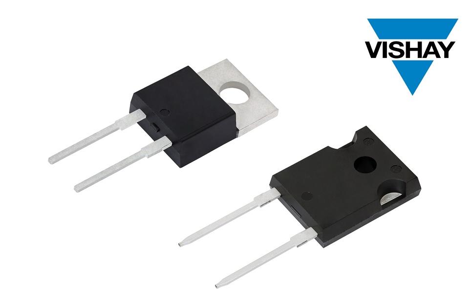 Vishay的新款第五代FRED Pt?600V Hyperfast和Ultrafast整流器具有极高的反向恢复性能