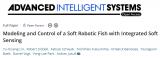 淺談帶有集成軟傳感的軟體機器魚的建模和控制