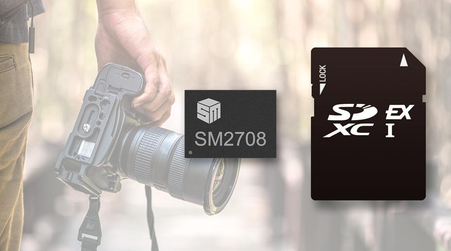 慧荣科技发布全球首款支持最新SD 8.0规范的SD Express 控制器解决方案
