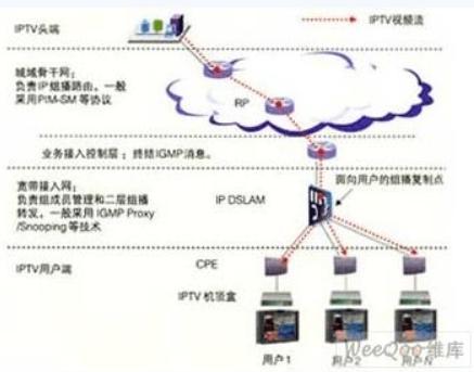 解析IPTV端到端组播推送网络的关键配置技术