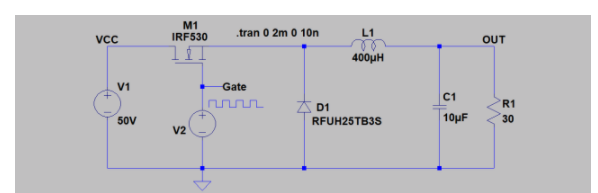 降压转换器仿真的电源设计方案分析