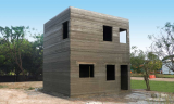 Kanchipuram测试基地用3D技术打印了一座混凝土住宅楼模型