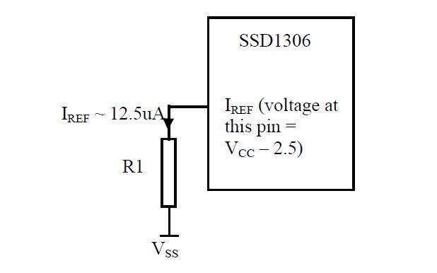 SSD1306 OLED和PLED段带控制器的通用驱动器的数据手册免费下载