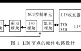基于MC68HC908QL4芯片和LIN总线实现车灯诊断系统的应用方案