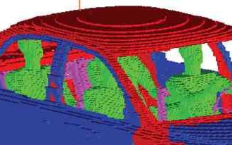 单级天线电场模型验证数据的仿真测量与研究
