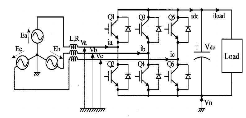 三相PWM新型控制方法:使用单个电流传感器的整流器