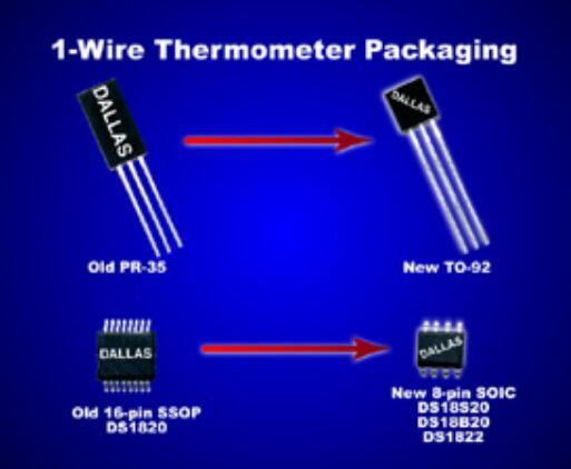 DS18B20单线数字温度传感器