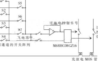 基于M68HC08GZ16和MAX309芯片實現電池管理系統的設計