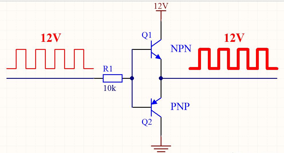 解密为何PWM驱动芯片用图腾柱以及图腾柱和互补推挽之间有什么区别