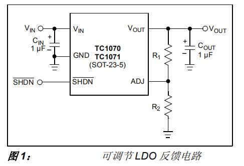 使用Microchip的微功率LDO