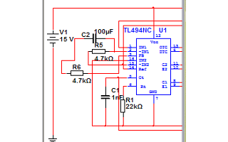 multisim 10/11仿真模型的tl494元件下载