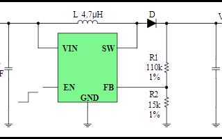低功耗恒频恒流DC升压转换器芯片FH4204