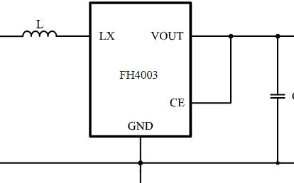 高效高频DC-DC升压转换器芯片FH4003系列