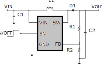 低功率恒频6引脚升压转换器芯片MT3608