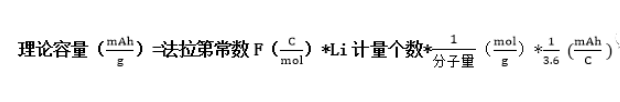 分享几种常用锂电参数与计算公式