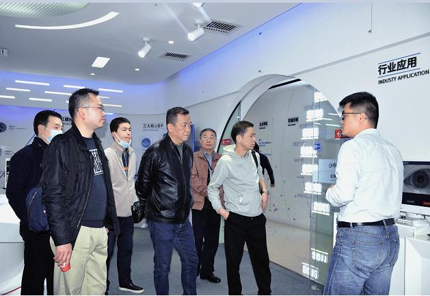 聚焦虹膜身份数据库建设,省公安厅领导莅临虹识技术交流考察