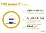 "ABLIC推出了""S-5701 B系列""表面贴装隧道磁阻(TMR)传感器IC"