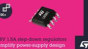 意法半导体推出L6981同步降压稳压管扩大高能效电源变换器系列