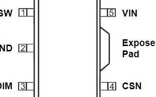 高調光比LED降壓恒流驅動器PT4115