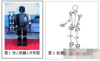 基于仿人機器人的多功能通用型控制系統的設計