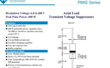TVS二级管有着广泛的应用,其选型攻略的简单介绍