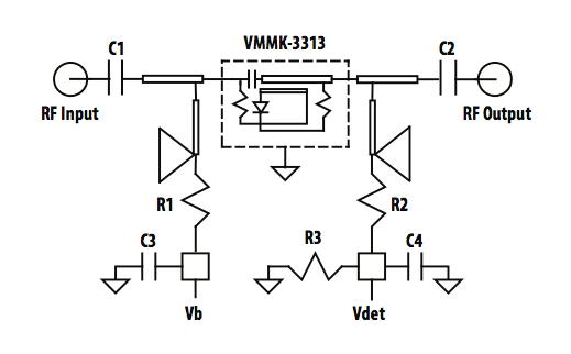 浅谈VMMK-3313及15至33 GHz应用中的晶圆级封装检测器使用