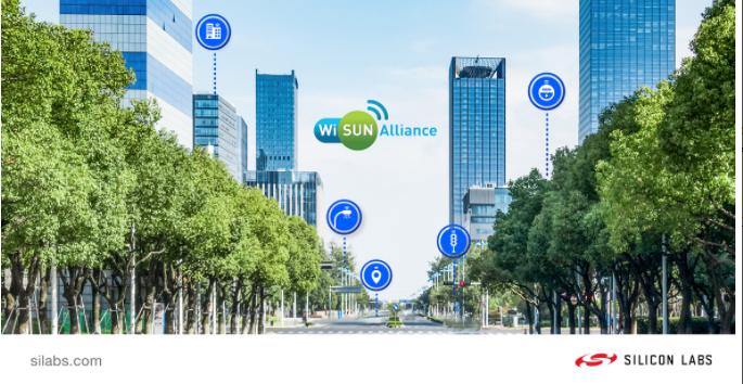 Silicon Labs利用基于標準的Wi-SUN技術擴展物聯網無線產品組合