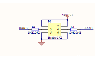 STM32F103C8T6单片机原理图下载