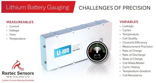 锂电池的充电状态(SOC)估算、库仑计数和电流感应
